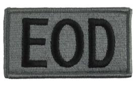 US Army Foliage patch - Explosive Ordnance Disposal (EOD) - met klittenband - voor ACU camo uniform - 8,5 x 5 cm - origineel