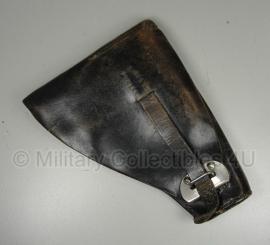 Belgisch M25 holster - zwart leer - origineel
