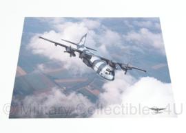KLu Luchtmacht  foto op kunststof FOTOVLUCHT Vliegbasis Soesterberg - 40 x 30 cm - origineel