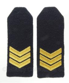 """KM Koninklijke Marine schouder epauletten """"Sergeant"""" - origineel"""