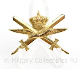 Klu Koninklijke Luchtmacht borst brevet  Hogere Bekwaamheid Militaire Lichamelijke Opvoeding & Sport - 4 x 3 cm - origineel