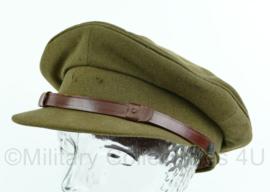 MVO platte pet zonder insigne, lijkt op wo2 Brits model - Maat 56 - Origineel