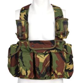 Chest Rig 100% Cordura - Nederlands leger camo DPM woodland - nieuw gemaakt