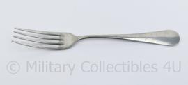 Defensie kantine vork met leeuw logo - 20,5 x 2,5 cm - origineel