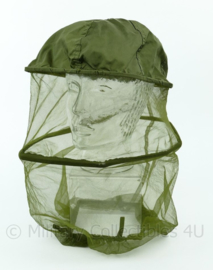 US Army head insect net 1988 groen nylon - origineel