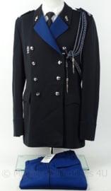 KMAR Marechaussee DT uniform set jas, broek, koord, nestel en brevet - maat 50 - origineel