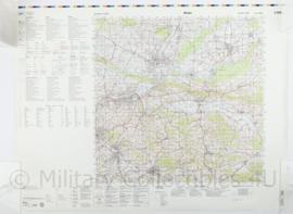 Duitse militaire kaart Minden - 1 : 100.000 - 74 x 56 cm - origineel