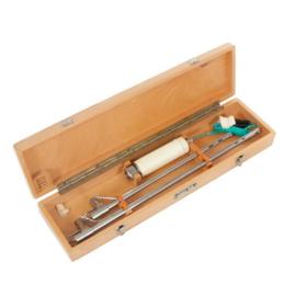 laryngoscoop nieuw in houten kist - origineel