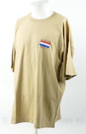 Zeldzaam shirt NL1 DET IRAQ 2003 / 2004 uitzending Irak - maat XL - nieuw - origineel