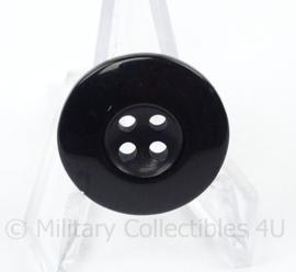 Knoop zwart - doorsnede 2,2 cm - replica