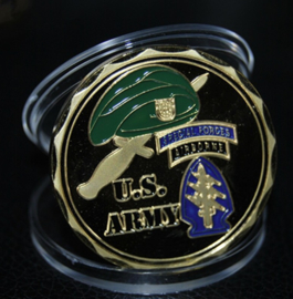 US Army Special Forces Airborne To Liberate The Oppressed Coin - 40 mm diameter