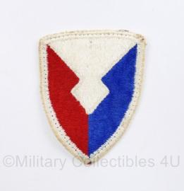 US Army naoorlogs full colour embleem Materiel Command FORSCOM patch- 6 x 5 cm - origineel