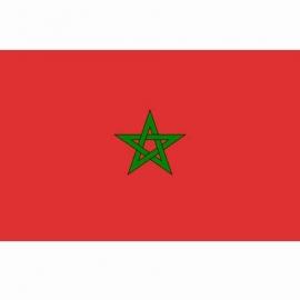 Vlag Marokko - Polyester -  1 x 1,5 meter