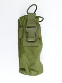 Defensie of US Army Groene MOLLE M4 M16 Diemaco Single Mag pouch - 19 x 7,5 x 5 cm - NIEUW - origineel