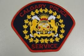 Calgary Police Service patch - origineel
