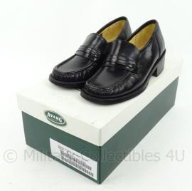 KM Koninklijke Marine dames schoenen zwart merk Avang - lederen zool met  rubber - nieuw in doos  - maat 2,5 - origineel
