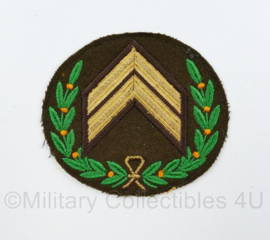 KL embleem Compagnie Sergeant Majoor model 1963 - 9,5 x 8,5 cm - origineel