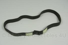 Helm overtrek elastische band met reflectie Helmet elastic band with cateyes - groen - origineel KL