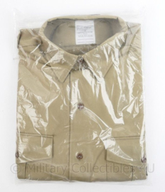 Korps Mariniers en Koninklijke Marine Tropen tenue overhemd korte mouw  - nieuw in verpakking - maat 40 - origineel