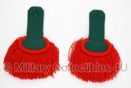 Franse Vreemdelingen Legioen Legion Étrangére schouderstukken - matige staat - origineel