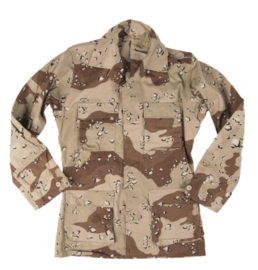 US Golfoorlog field jacket DBDU DESERT Six-Color Desert Pattern  1990 - maat Large Regular- origineel