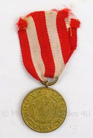 Poolse medaille - herinnering aan overwinningen - RP Zwyciezcom III.1945/IV.1945 - 4 x 9 cm - origineel