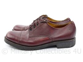 KL DT schoenen bruin leder model tot 2000 - maat 290B = 45 B - origineel