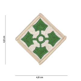 4th Infantry Division patch - 4,8 x 4,8 cm