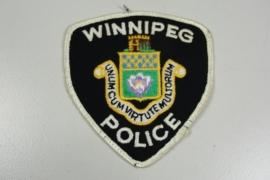 Winnipeg Police patch - origineel