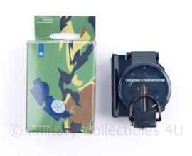 Defensie goodie kompas in doosje - Veiligheid en Vakmanschap - nieuw, verpakking gescheurd - 12 x 6,5 x 3,5 cm - origineel