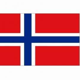 Vlag Noorwegen - Polyester -  1 x 1,5 meter