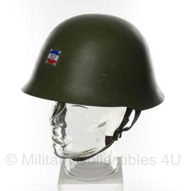 Servische helm M59/89 - MET zeldzaam republiek Srpska burgeroorlog embleem - origineel