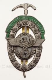 Replica WO2 Duits Gendarmerie Alpinist Abzeichen in geschenk- of displaydoosje