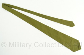 Stropdas groen - 135 cm - origineel