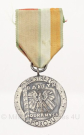 Poolse leger Border Troops medaille 1970 - origineel
