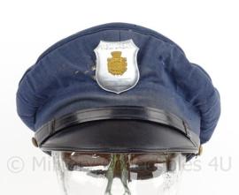 Italiaanse politie pet met insigne - Vigili Urbani - maat 56 - origineel