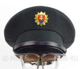 Slowaakse leger pet met insigne - grijsblauw - maker: Benet - maat 54 - origineel