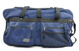 blauwe goederentas met versterkte bodem en 2 wieltjes OTRS Daily Packers - met wieltjes - 35 x 65 x 25 cm - origineel