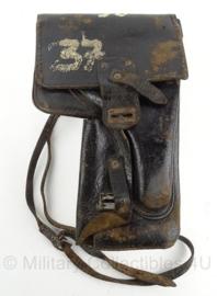 DDR Kampfpistole holster  -  zwart  -  origineel
