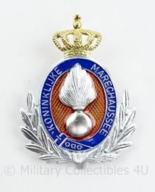 KMAR Marechaussee pet insigne onderofficier - afmeting 5 x 6 cm - origineel