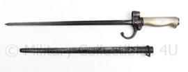 Franse leger M1886 Lebel bajonet met schede - 46,5 cm - origineel