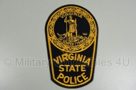 Virginia State Police patch - oranje - origineel