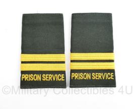 Prison service epauletten - mogelijk Canadees - origineel