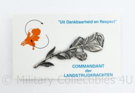 Dankbaarheid en respect aandenken voor de familie van Veteranen - origineel