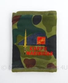 Korps Mariniers portemonee - camo print - afmeting 12,5 x 9, 5 cm - origineel