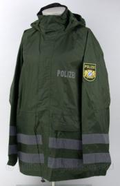 Duitse Polizei moderne regenjas met embleem Bayern - maat XS, S, M of L - origineel