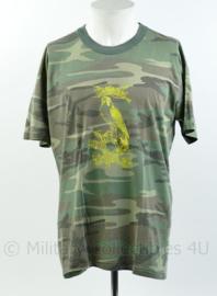 Defensie T-shirt Lumbl Luchtmobiele Brigade  - maat XL - origineel
