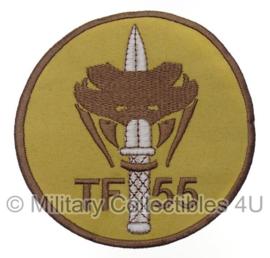KL Nederlandse leger Special Forces TF55 embleem - nieuw gemaakt