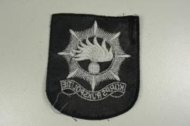Mouwembleem Korps Rijkspolitie zilverkleurig  - origineel