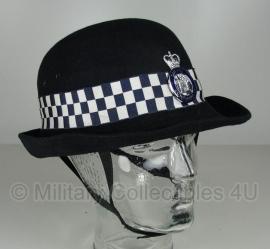 Britse dames politie hoed - Metropolitan Police - meerdere maten - origineel